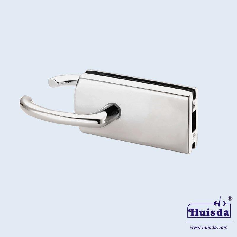HSD 592B 带活动执手玻璃门锁